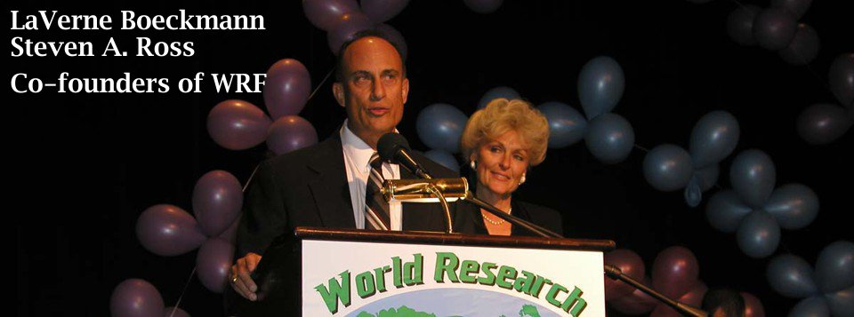laverne boeckmann - steven ross - co-founders wrf